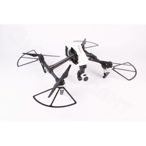 Inspire 1 drón a felszerelt propeller védővel
